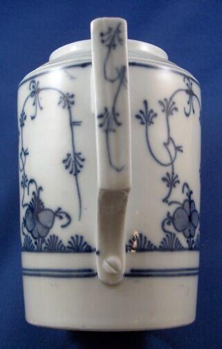 Rare 18thC Gotha Porcelaine Strawflower Porzellan Cafetière Porzellan Strawflower Kanne StrohbluHommes  338927