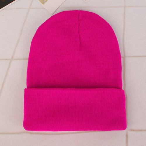 24 Colors Men Women Unisex Beanie Baggy Knitted Ski Cap Hip-Hop Winter Warm Hats