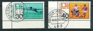 BRD-Michel-Nr-811-812-Ecke-3-gestempelt