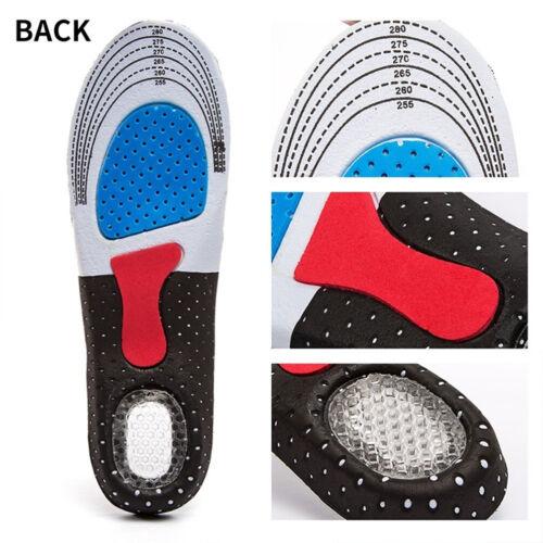 1Pair Unisex Silicone Gel Insoles Foot Care Plantar Heel Spur Orthopedic Insoles