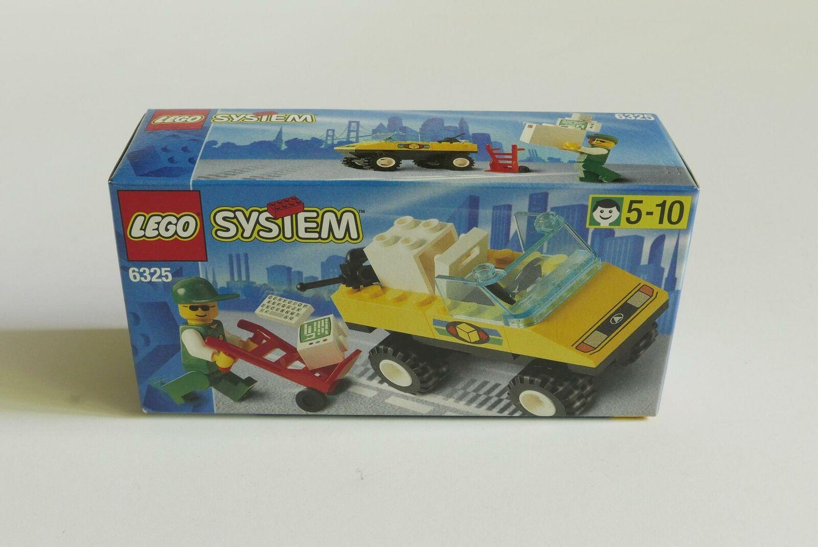 LEGO System Town 6325 Paket Abholung NEU Versiegelt SELTENE Vintage MISB MINT