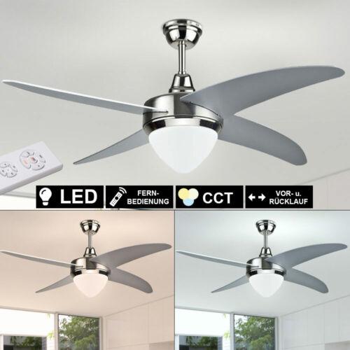 LEISER LED Decken-Ventilator FERNBEDIENUNG Lüfter TIMER Lampe Dimmbar Leuchte