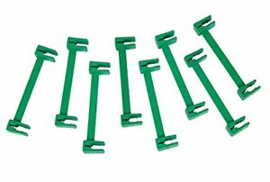 8-x-Green-Durable-Trellis-with-Fence-Ties-Secure-Plant-Wire-Weather-Proof
