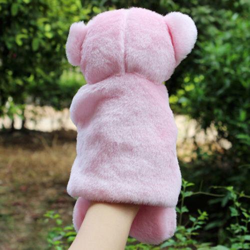 Pig Hand Puppet Plush Dolls Kindergarten Bedtime Story Telling Educational Toys