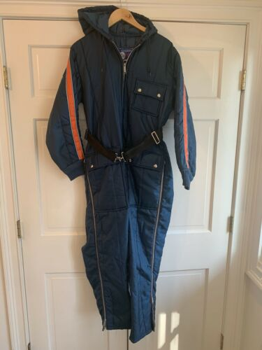 Vintage 60s Foremost Penneys Retro Snowmobile Ski