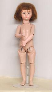 Albert-MARQUE-46-CM-18-inch-Poupee-Ancienne-Reproduction-Antique-doll