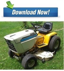 Cub-Cadet-1210-1872-Hydro-Riding-Mower-Service-Repair-Manual