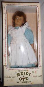 Puppe Künstlerpuppe von Heidi Ott Swiss Design Handarbeit