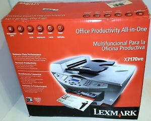 LEXMARK X7170 ALL-IN-ONE PRINTER DRIVER FOR WINDOWS