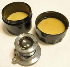 OBIETTIVO FED 3,5/50 M39 USSR CCCP LEICA FED ZORKI TELEMETRO objektiv lens A