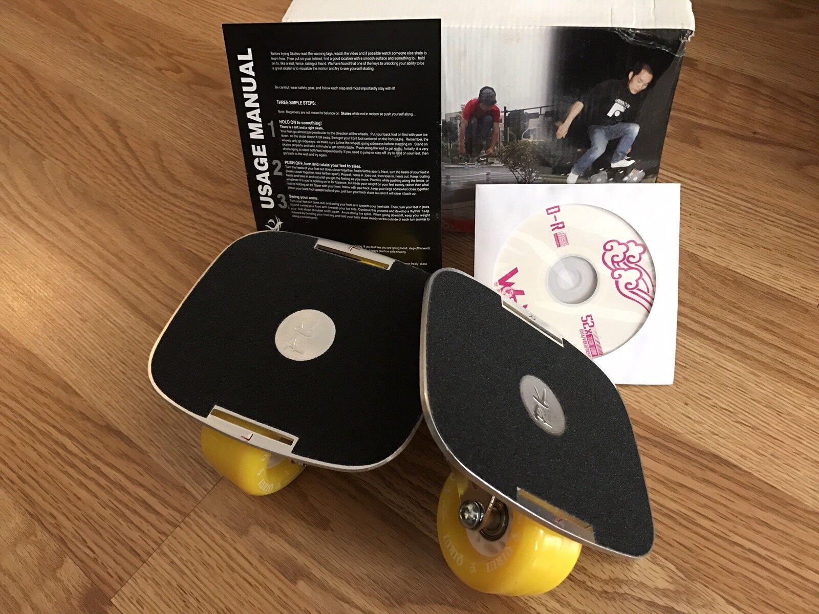 Brand New Yellow Freeline S s  + Tutorial CD + Free Shipping  unique design