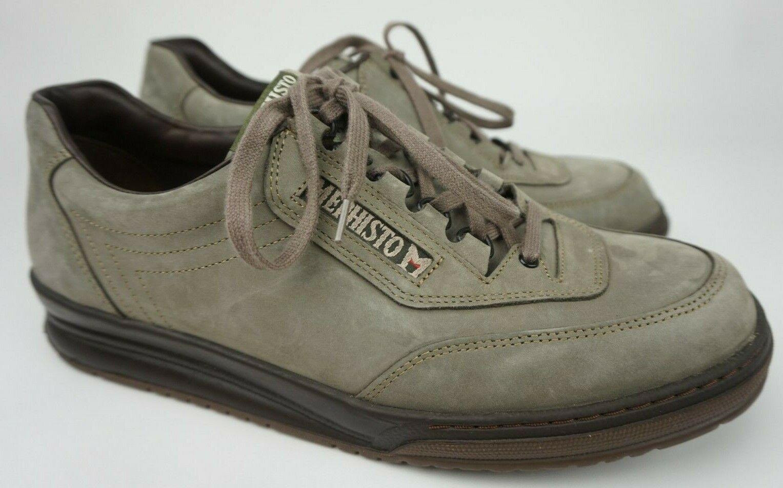 Mephisto Match Men's Walking Shoe Birch Nubuck Leather Size US 11