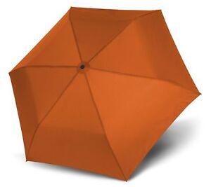 Reiseaccessoires Sanft Doppler Zero,99 Regenschirm Accessoire Uni Fruity Orange Orange Neu Regenschirme
