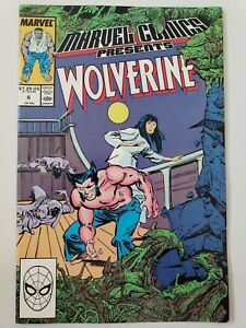 MARVEL-COMICS-PRESENTS-6-1988-WOLVERINE-034-SAVE-THE-TIGER-034-Part-6-BUSCEMA-NM