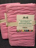 Pottery Barn Kids The Very Hungry Caterpillar Butterfly Quilted Sham Euro