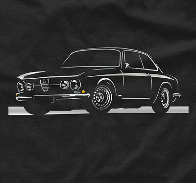 T-shirt for alfa romeo junior Tshirt gta fans giulia gtv c4 giulietta tee