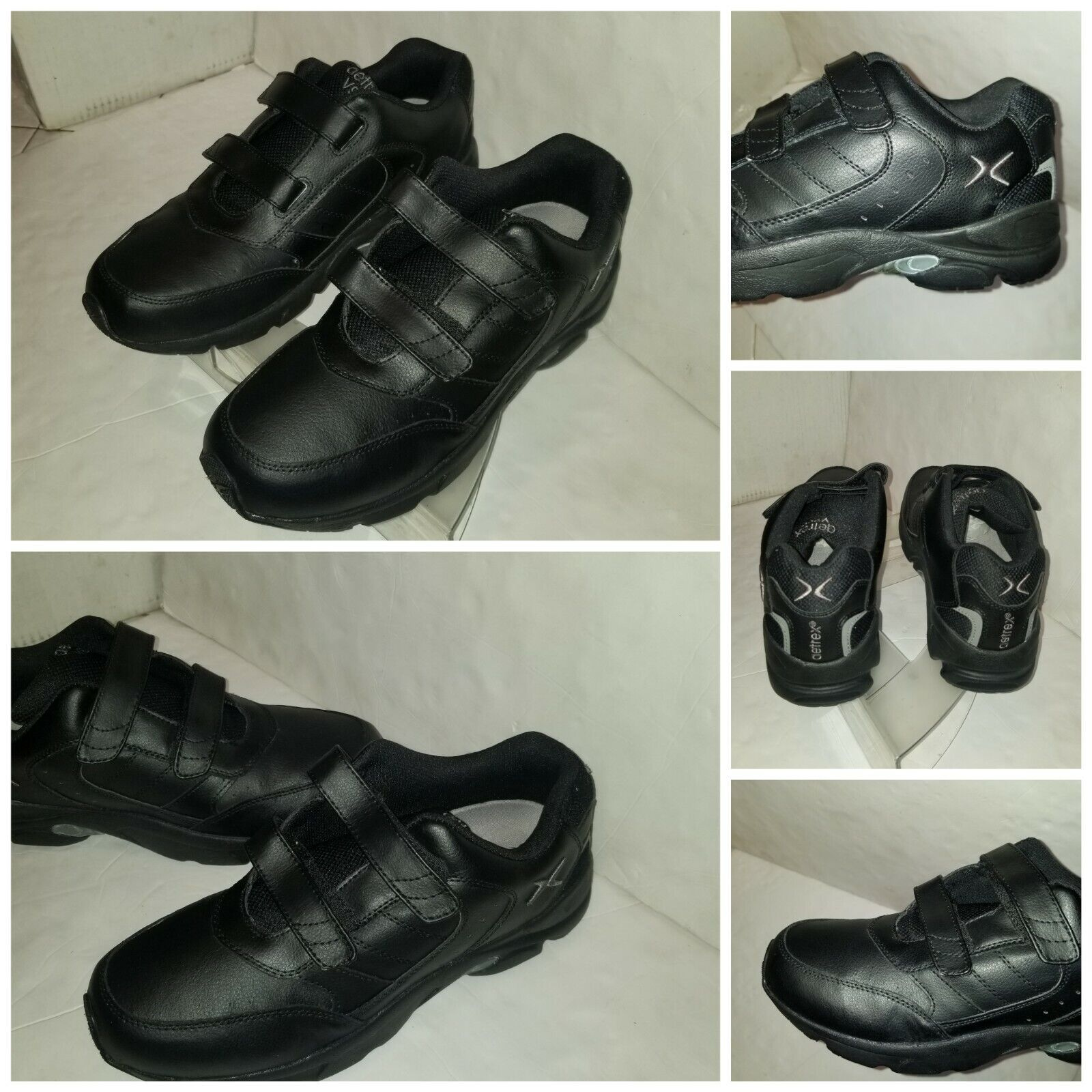 Aetrex V950 Therapeutic Walker Shoes Mens Size 11 X- Wide Double Strap Leather