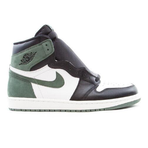 Size 10 - Jordan 1 Retro High OG Clay Green 2018 for sale online | eBay