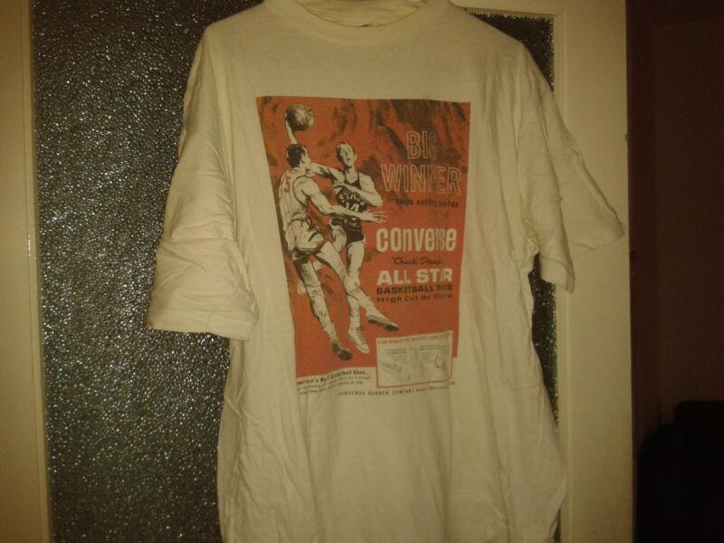 Motiviert Converse Allstar 90er T-shirt Vintage Old School - Guter Zustand - Größe Xl