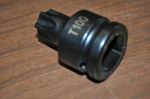 """Mercedes transmissions.T-100 Torx Socket 3//4/"""" Drive Ast T-100"""