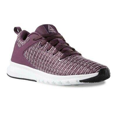 Reebok Womens Print Lux Purple Running