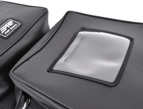 PRP Black Carbon Fiber Vinyl Overhead Storage Bag Can-Am Can Am Maverick X3