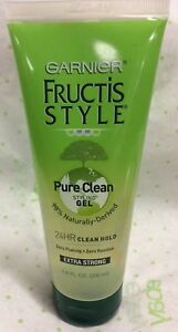 Garnier-Fructis-Style-Pure-Clean-Extra-Strong-Styling-Gel-6-8-OZ-NEW