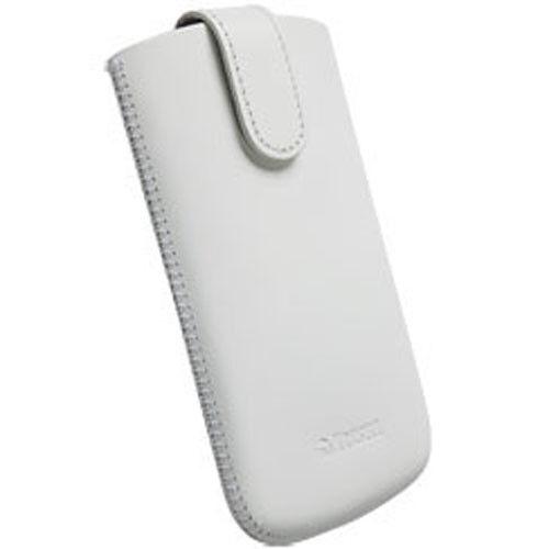 Krusell Asperö Tasche für Apple iPhone 5 5s weiß Size L Long Etui Hülle 95398