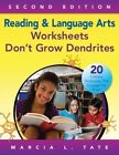 Reading and Language Arts Worksheets Don't Grow Dendrites: 20 Literacy Strategies That Engage the Brain by Marcia L. Tate (Paperback, 2014)