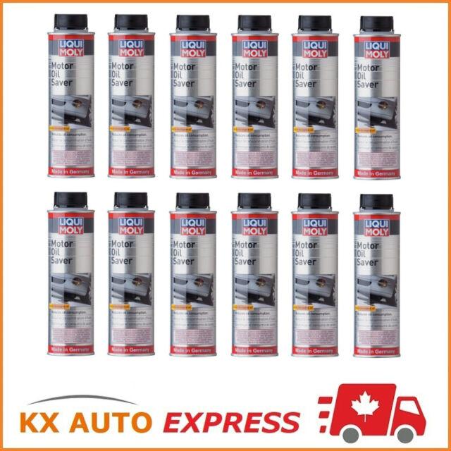 12X Liqui Moly Motor Oil Saver (Stops Oil Leakage & Blue Smoke) 300ml 2020