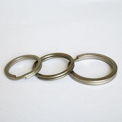 EDC 5 pcs Size S Titanium Keychain Key Ring Split Ring 25MM
