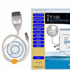 MINI VCI FOR TOYOTA J2534 V10.30.029 Toyota Diagnostic Test Line Cable