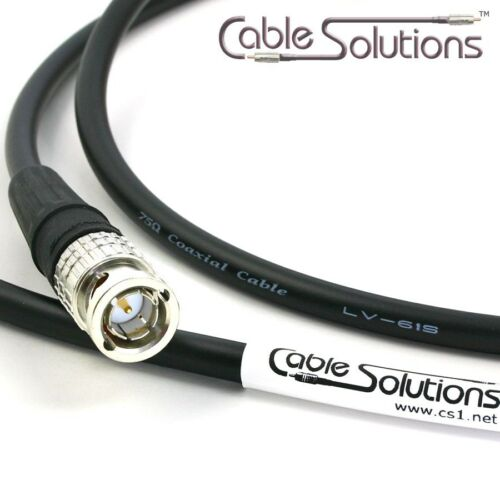 Canare LV-61S Custom Video//Audio//RF//RCA//BNC//F Cable 14m