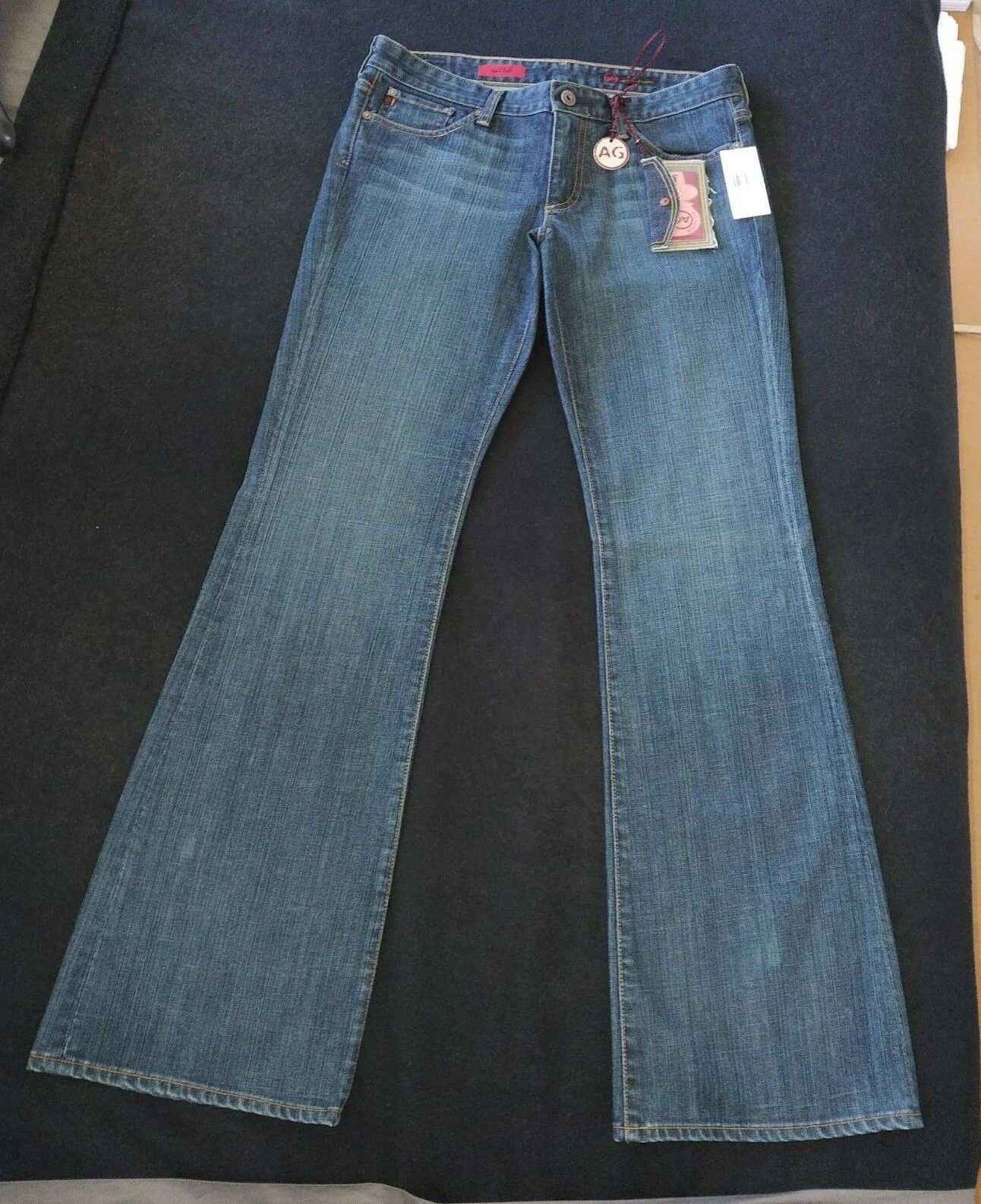 BRAND NEW WOMEN'S AG ADRIANO goldSCHMIED THE CLUB JEANS IN SIZE 30 - RARE FIND