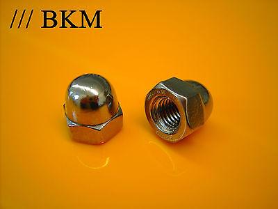 Hutmuttern hohe Form von M3 bis M12 DIN 1587 Hutmutter BKM EDELSTAHL V2A