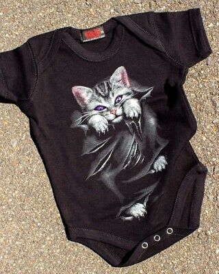 Harebrained Hairy Pawter One Piece Romper Baby Harry Potter Parody Cute Gift Cat
