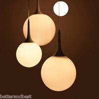 Glass Led Ceiling Light Fixture Pendant Lamp Lighting Chandelier Dining Room