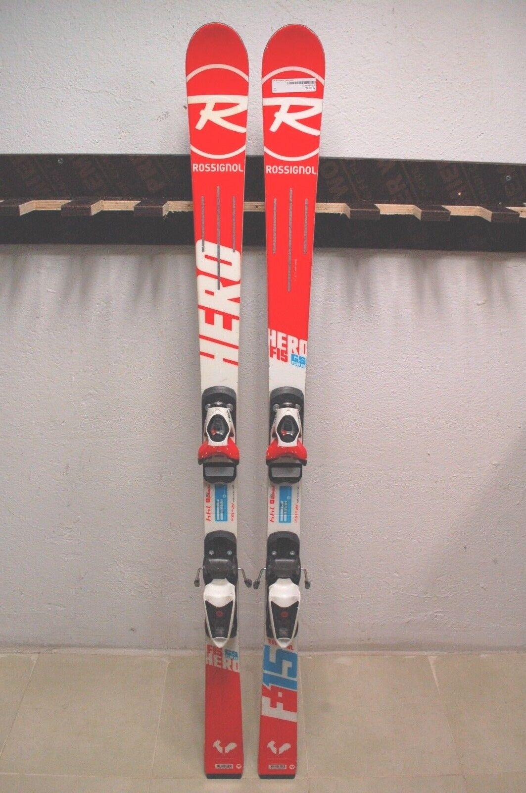 Rossignol Hero FIS GS Pro 144 cm 10 Fijaciones Rossignol Axium Esquí +