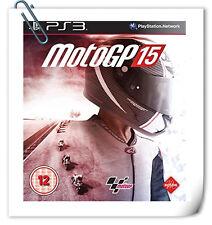 PS3 MOTOGP 15 Moto GP SONY PlayStation Racing Games Milestone