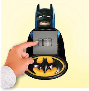 Lego Batman Marvel Avengers Light Switch Surround Sticker ...