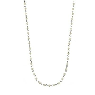 Downton Abbey Collection Silver Pearl Night at the Theatre Long Necklace 17635