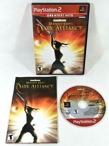 Baldur's Gate: Dark Alliance for PlayStation 2 PS2 - Complete w/ Manual CIB
