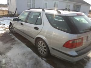 Saab wagon 2002