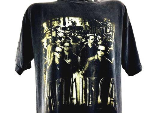 Vintage Metallica Shirt 90s Concert Shirt Band Tee