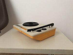 Audio-Raritat-Music-Maker-portable-Vinyl-Player-TOP-Sammlerzustand