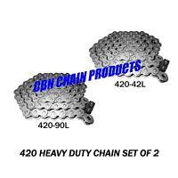 Baja Mini Bike, Mb165 Chain, Mb200 Chain, 2 Chains Front And Rear