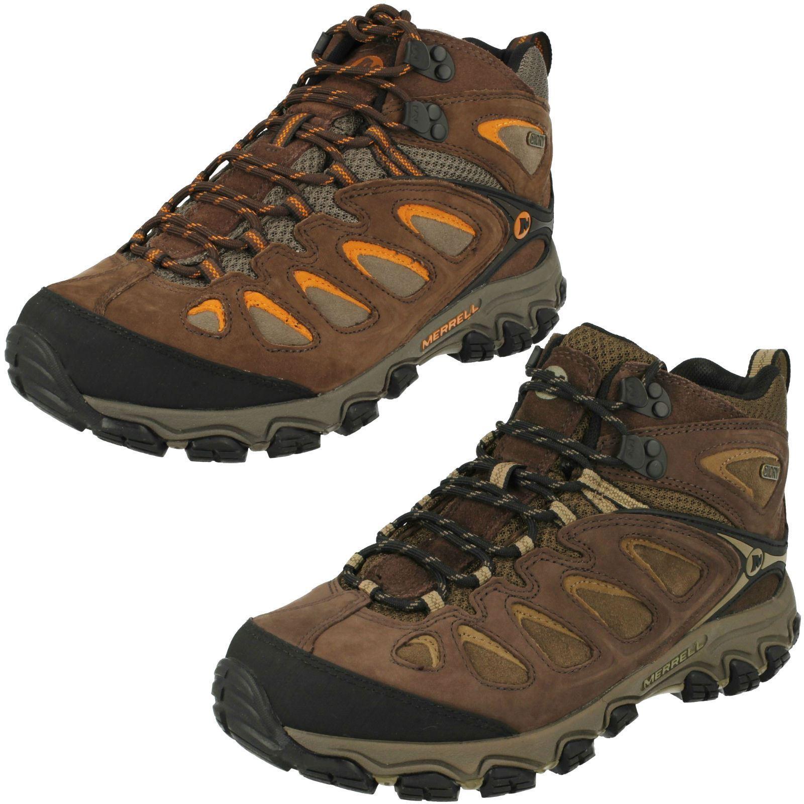 Mens Merrell Waterproof Walking Boots Pulsate Mid Waterproof