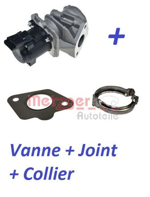 Vanne EGR + joints + colliers 1.6 HDI CITROEN BERLINGO C2 C3 C4 I et II C5 JUMPY