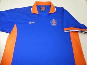 NETHERLANDS HOLLAND 1997/98 NIKE FOOTBALL SOCCER SHIRT JERSEY TOP XLARGE