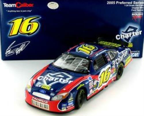 Greg Biffle Charter   National Guard 2005 Ford Taurus- signerad diecast